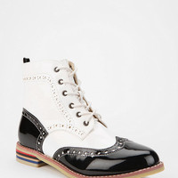 Wanted Kiley Patent Oxford Ankle Boot