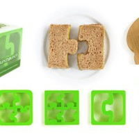 Match &amp; Munch -  Puzzle Sandwich Cutters