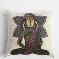 Buddha Pillow By Valentina Ramos