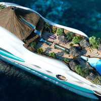 Luxury Overboard: Private Yacht as Tropical Island Paradise | Designs &amp; Ideas on Dornob