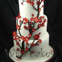 red cherry blossoms wedding - Google Search