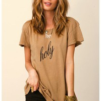 WILDFOX - Hippy Crew Holy Shirt