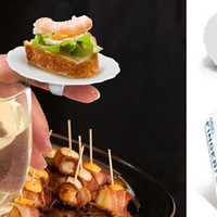 Fingerfood Party Plates - For ultimate party multi-tasking
