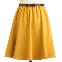 Ochre the Moon Skirt | Mod Retro Vintage Skirts | ModCloth.com