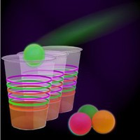 Amazon.com: Black Light Reactive Neon Beer Pong Party Pack #79080: Everything Else