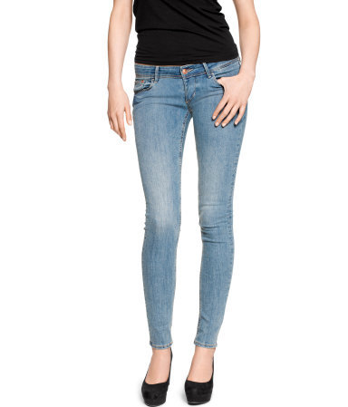 super skinny super low jeans from h m from h m. Black Bedroom Furniture Sets. Home Design Ideas