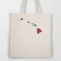 Hawaii Tote Bag by Mad Dope | Society6