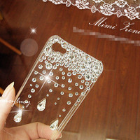 iphone 5 case, iphone 4 cover, iphone 4s case, Bling iphone 5 case, rhinestone bling iphone 4s case skin, Unique iphone 5 case