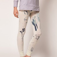 Elliot Atkinson Legging in All Over Print at asos.com