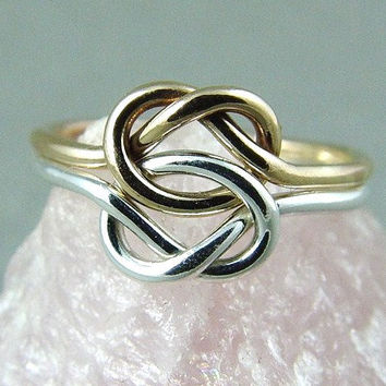 knot ring infinity knot from