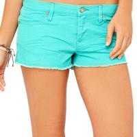 "Ladies Sun Skippers 2"" Denim Short"
