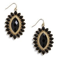 Onyx and Off Earrings | Mod Retro Vintage Earrings | ModCloth.com