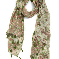 Forest Florals Scarf | Mod Retro Vintage Scarves | ModCloth.com