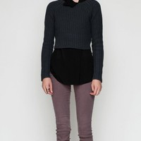 T by Alexander Wang / Cropped Cardigan