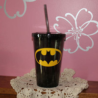 Batman Personalized 16 oz. Acrylic Tumbler