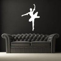 Ballerina Wall Decal Ballet Dance by WallStarGraphics on Etsy