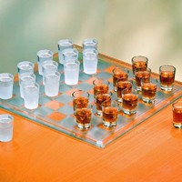 Amazon.com: Shot Glass Checkers Set - Full Sized: Kitchen &amp; Dining