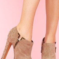 Studded Platform Bootie