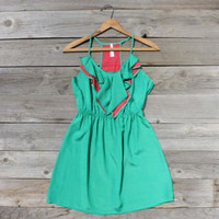 Melon Vine Dress, Sweet Women's Country Clothing