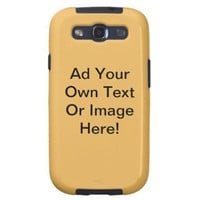 Beeswax Solid Color - Customizable Galaxy S3 Covers