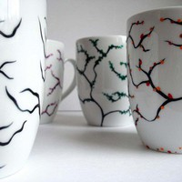 Four Seasons Coffee Mugs--4 Piece Collection