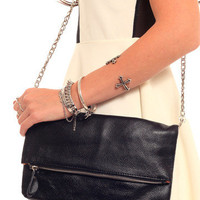 GYPSY WARRIOR - Foldover Leather Satchel