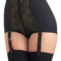 Abounding Beauty Contouring Undies in Noir
