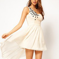 Rare Skater Dress with Jewel Embellishment at asos.com