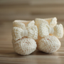 Crochet Baby Booties Boots with bow or pom pom newborn by jbanz