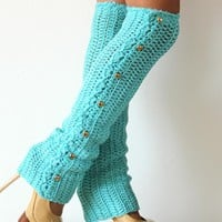 Dance Till Dawn Crochet Leg Warmers