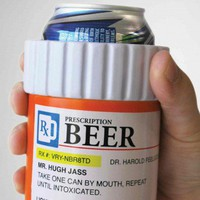 Pill Bottle Prescription Koozie