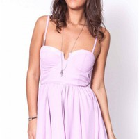 Weekender dress in lilac  | Show Pony Fashion online shopping