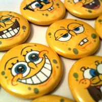 Spongebob Squarepants Pins Set