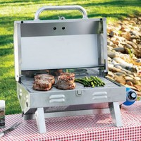 Cabela&#x27;s: Cabela&#x27;s Table Top Stainless Steel Grill