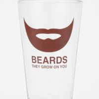UrbanOutfitters.com > Beards Pint Glass