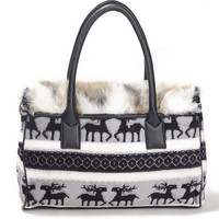 Black Fashion Satchels Bag$39.00