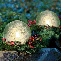 Ice Globe Candle Lantern Kit - Wind and Weather