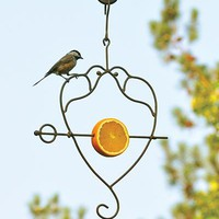Loving Doves Fruit Spear Birdfeeder - Wind and Weather