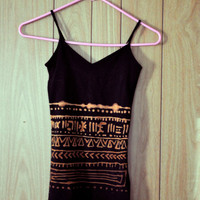 Small Bleach SouthWestern Tank