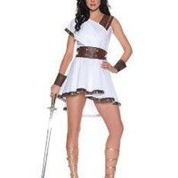 Amazon.com: Greek Guardian Female Adult Costume Size Small: Clothing