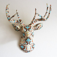 Art Deco deer head wall mount by hclaire on Etsy