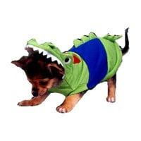 Dog Clothes Adorable Crocodile Dog Costume
