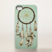 BUY 2 GET 1 FREE -- Dream catcher iPhone 4 Case, iPhone 4s Case, iPhone 4 Cover, Hard iPhone 4 Case , silicone iphone 4 case