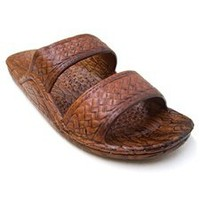 Pali Hawaii Sole Mate slide sandal in brown - ShopTheDocks.com