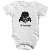 Star Wars - I Am Your Father - Personalized Onesuit Baby Clothes