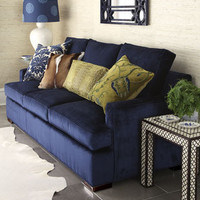 Old Hickory Tannery - &quot;Bali Ocean&quot; Sofa - Horchow