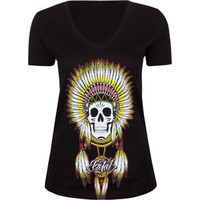 FATAL Headdress Womens Tee 206824100 | Graphic Tees & Tanks | Tillys.com