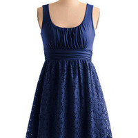 Blueberry Iced Tea Dress | Mod Retro Vintage Dresses | ModCloth.com