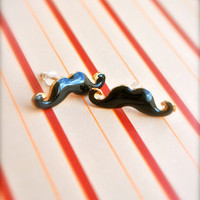 Little Mischievous Mustache Earrings | Trinkettes