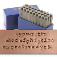 Lowercase Typewriter Courier Font -.. on Luulla